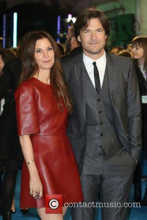 Jason Bateman and Amanda Anka - Shots of the stars from 'Horrible Bosses 2' as they arrived at the UK...