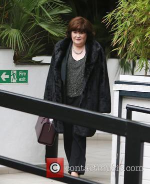 Susan Boyle - Susan Boyle outside the ITV Studios - London, United Kingdom - Thursday 13th November 2014