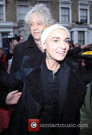 Sir Bob Geldof and Sinead O'connor