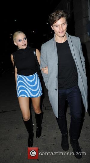 Pixie Lott &  Oliver Cheshire - Celebrities and their dancers arrive at Rumours Night Club For the Strictly Come...