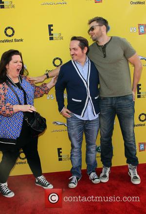 Melissa McCarthy, Ben Falcone and Joel McHale - Photographs from the PS Arts Express Yourself Event as a variety of...