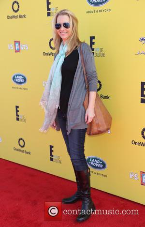 Lisa Kudrow - P.S. ARTS Express Yourself Event 2014 held at Barker Hangar - Arrivals - Los Angeles, California, United...