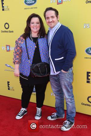 Melissa McCarthy and Ben Falcone - P.S. ARTS Express Yourself Event 2014 held at Barker Hangar - Arrivals - Los...