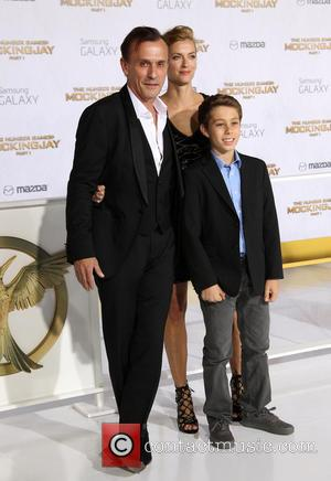 Robert Knepper, Nadine Kary and Benjamin Knepper - Photo's of a variety of Hollywood stars as they arrived for the...