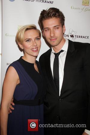 Scarlett Johansson and Hunter Johansson - Friends Of Rockaway 2nd annual Hurricane Sandy fundraiser at Hudson Terrace at Hudson Terrace...