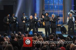 Boyz II Men, Billy Joel, Josh Groban, Gavin DeGraw, Tony Bennett and Kevin Spacey - Shots from the Library of...