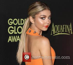 Sarah Hyland - Photographs of a host of stars as they arrived for the Hollywood Foreign Press Association and InStyle...