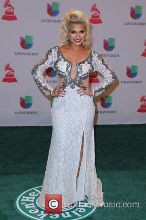 Giselle Tavera - A host of celebrities were snapped as they took to the green carpet for the 2014 Latin...