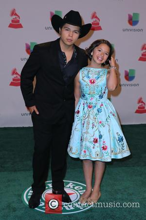 Leonardo Aguilar and Angela Aguilar - A host of celebrities were snapped as they took to the green carpet for...