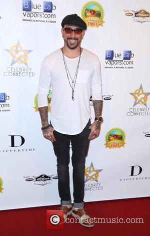 AJ McLean - Shots from the American Music Awards Gifting Suite which a host of celebrities attended at the W...
