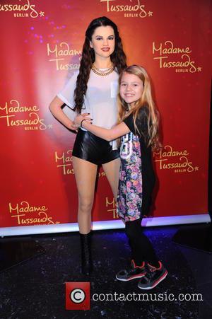 Selena Gomez and Faye Montana - Faye Montana unveiling the wax figure of Selena Gomez at Madame Tussauds in Mitte....
