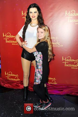 Selena Gomez - Faye Montana unveiling the wax figure of Selena Gomez at Madame Tussauds in Mitte. at Madame Tussauds...