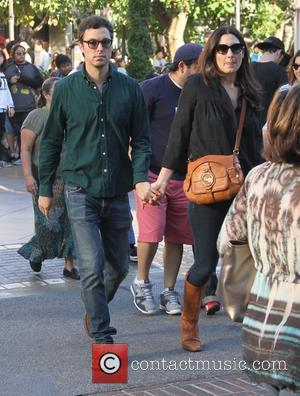 John Francis Daley - A variety of celebs were spotted as they went shopping at The Grove in Los Angeles,...