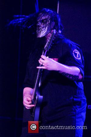 Skipknot and Mick Thomson - Shots of American heavy metal band Slipknot as they gave a live performance along with...