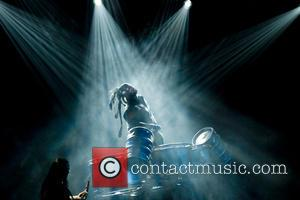 Slipknot and Shawn Crahan - Shots of American heavy metal band Slipknot as they gave a live performance along with...