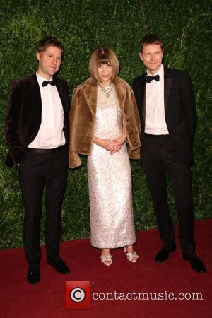 Anna Wintour and Christopher Bailey