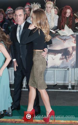 James Nesbitt and Peggy Nesbitt - 'The Hobbit: The Battle of the Five Armies' world premiere - Arrivals - London,...