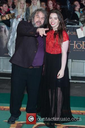 Peter Jackson and Katie Jackson - 'The Hobbit: The Battle of the Five Armies' world premiere - Arrivals - London,...