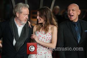 Sir Ridley Scott, María Valverde and Sir Ben Kingsley - 'Exodus: Gods and Kings 3D' - UK film premiere held...