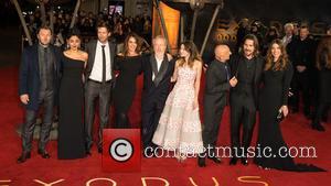 Joel Edgerton, Golshifteh Farahani, Andrew Tarbet, Giannina Facio, Sir Ridley Scott, Maria Valverde, Sir Ben Kingsley and Christian Bale. Sibi...