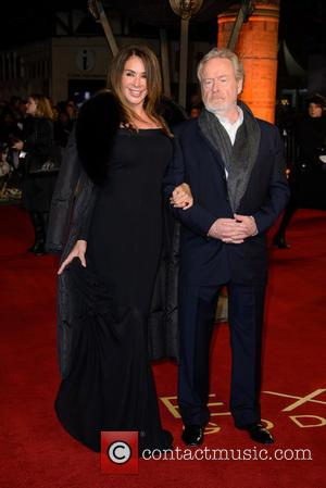 Sir Ridley Scott - Photographs of a variety of celebrities as they took to the red carpet for the UK...