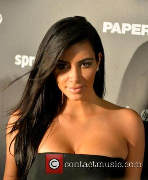 Kim Kardashian - Shots of a host of stars as they arrived at the Paper Magazine Sprout By HP DKNY...