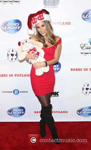 Bonnie Jill Laflin - 7th Annual 'Babes In Toyland' charity toy drive for Promises2Kids held at The Living Room in...