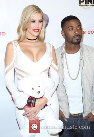 Ray J and Kennedy Summers - 7th Annual 'Babes In Toyland' charity toy drive for Promises2Kids held at The Living...