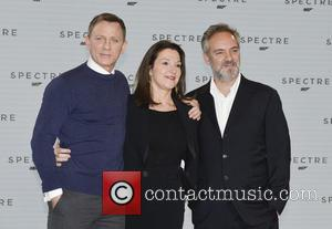 Daniel Craig, Barbara Broccoli and Sam Mendes - Shots of the stars of 'Spectre' the new James Bond film as...