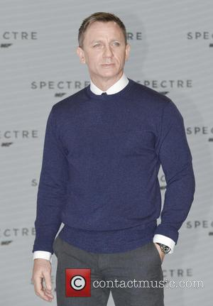 Daniel Craig - Shots of the stars of 'Spectre' the new James Bond film as they arrived at the films...
