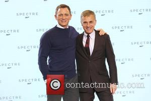 Daniel Craig and Christopher Waltz - Shots of the stars of 'Spectre' the new James Bond film as they arrived...