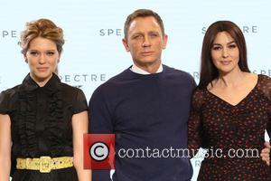 Daniel Craig, Lea Seydoux and Monica Bellucci - Shots of the stars of 'Spectre' the new James Bond film as...