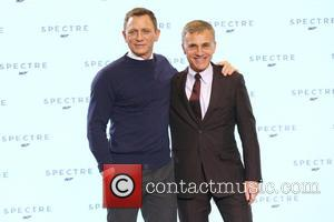 Daniel Craig and Christopher Waltz - SShots of the stars of 'Spectre' the new James Bond film as they arrived...