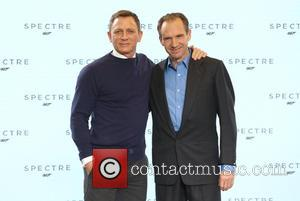 Daniel Craig and Ralph Fiennes - SShots of the stars of 'Spectre' the new James Bond film as they arrived...