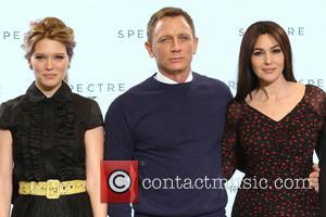 Daniel Craig, Lea Seydoux and Monica Bellucci - SThe launch of new James Bond film, Spectre - Arrivals - London,...