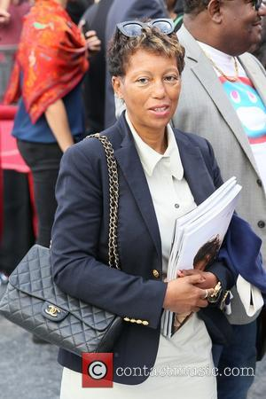 Carolyn Williams - American pop star Pharrell Williams was presented with a Hollywood walk of fame star at Hollywood Blvd...