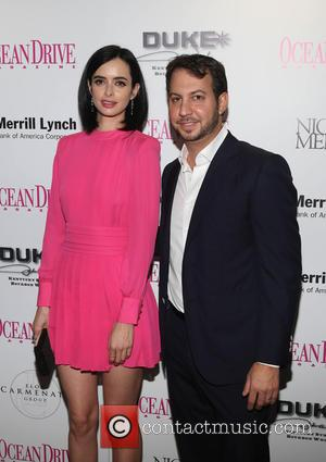 Krysten Ritter and Jared Shapiro - Ocean Drive Magazine December Cover Model Krysten Ritter launch at W South Beach -...