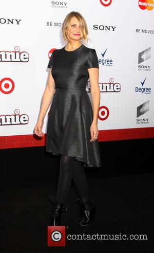 Cameron Diaz - New York premiere of 'Annie' held at the Ziegfeld Theater - Arrivals at Ziegfeld Theater - New...