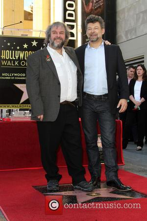 Andy Serkis and Peter Jackson