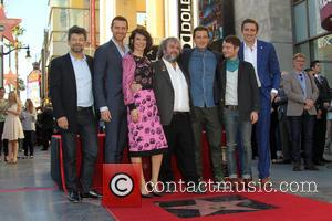Andy Serkis, Richard Armitage, Evangeline Lilly, PETER JACKSON, Orlando Bloom, Elijah Wood and Lee Pace - Director Peter Jackson honored...