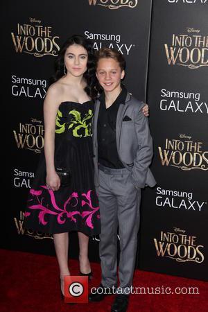 Lilla Crawford and Daniel Huttlestone