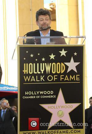 Andy Serkis - Director Peter Jackson to be honored with a star on the Hollywood Walk of Fame at THE...