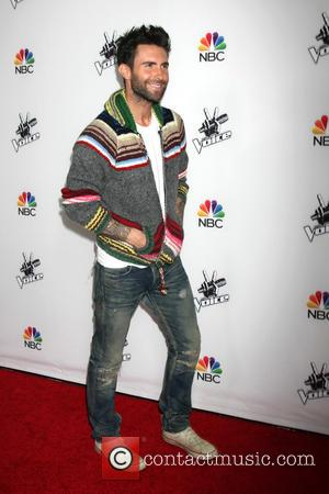 Adam Levine - Shots from the red carpet ahead of NBC's season 7 of