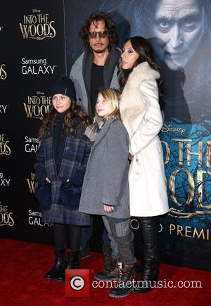 Chris Cornell, Vicky Karayiannis and family - Photographs from the red carpet as a vast array of stars arrived for...