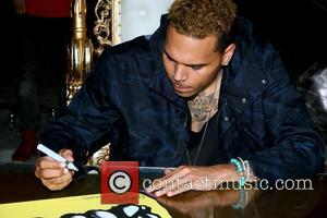 Karen Bystedt - Chris Brown and Karen Bystedt Exclusive Serigraph Signing Benefit Symphonic Love Foundation at Guerilla Atelier Clothing Store...