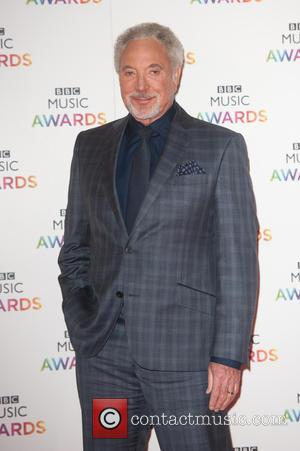 Tom Jones - BBC Music Awards held at the Earls Court Exhibition Centre. - London, United Kingdom - Thursday 11th...