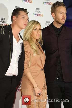 John Newman, Ellie Goulding and Calvin Harris - Shots of a host of stars from the music industry as they...