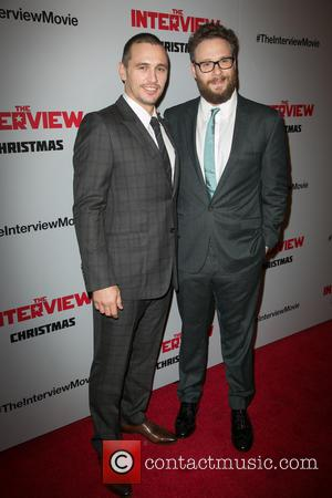 'The Interview' Stars Seth Rogen & James Franco Celebrate As Sony Announces Limited Christmas Day Release