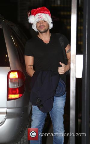 Peter Andre - Celebrities outside ITV Studios - London, United Kingdom - Friday 12th December 2014