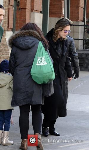 Ozzy Osbourne - Ozzy Osbourne leaving his hotel in Manhattan - Manhattan, New York, United States - Friday 12th December...